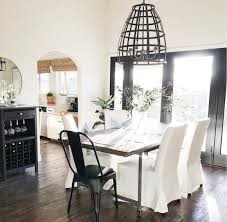 Ella Dining Room And Bar Home Tour Michelle Janeen And Her Bright White Home Nesting