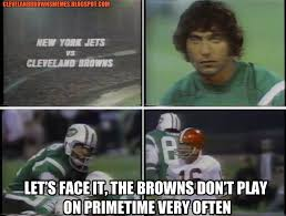 Cleveland Brown Memes - cleveland browns memes bills vs browns on primetime how the hell