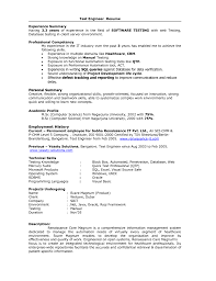 resume format for quality engineer qtp resume resume cv cover letter qtp resume qtp testing resume free resume example and writing download for ideas collection qtp test