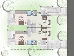 Twin House Plans Collection Twin Bungalow Designs Photos Best Image Libraries