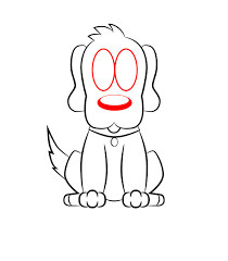 how to draw a cartoon dog draw central