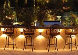 outdoor kitchen lighting ideas like the lights the counter edge outdoors but not