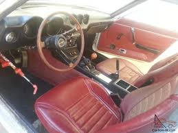 nissan fairlady 240z interior datsun 240z rust free original survivor white with red interior