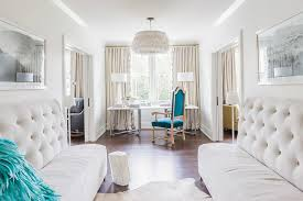 Office Chandelier Alyssa Rosenheck Office Next To Bedroom With White Feathers