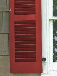 Wooden Louvre Blinds All About Exterior Window Shutters Oldhouseguy Blog