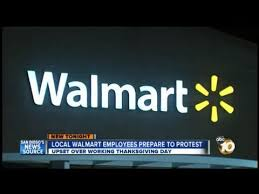 local walmart employees to protest store s decision to open