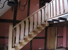 green oak staircase altham oak