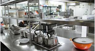 Kitchen Design Restaurant Kitchen Exquisite Restaurant Design With Stainless Gas
