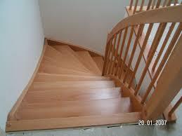buche treppe tischlerei und holzbau strunz viertelgewendelt