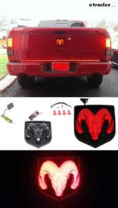 2015 dodge ram 1500 tail light bulb replacement ram led lighted vehicle emblem black tail light dodge rams and