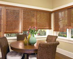 window treatments for living room and dining room informal dining
