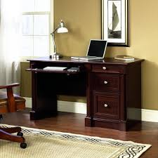 Small Writing Desk With Drawers by Amazon Com Sauder Palladia Computer Desk Cherry Kitchen U0026 Dining