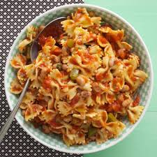 Pasta Recipes by Black Eyed Peas U0027n U0027 Pasta Recipe Taste Of Home