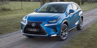 blue lexus nx 2018 lexus nx pricing and specs photos 1 of 38