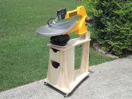 scroll saw stand woodworking plans by carmichaelworkshop on etsy