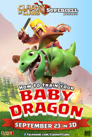 clash of clans dragon wallpaper how to train your baby dragon by fabyanou on deviantart