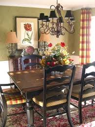ethan allen country french dining room set furniture painted sets