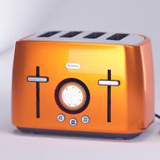 Breville Electronic Toaster Breville Rio Sunset 4 Slice Toaster Blend Swap