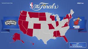 map of nba teams nba finals fan map business insider