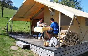 canvas bungalow black forest camping ground schwarzwaldhorn