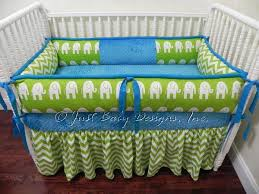 Custom Crib Bedding Sets Custom Crib Bedding Set Cameron Lime Babybedding
