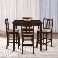 dining room sets with fabric chairs essential home hayden 5 piece upholstered dining set shop your