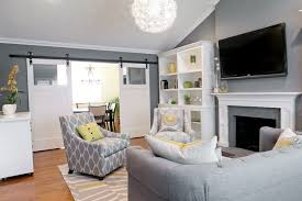 contemporary living room by found design whole house color scheme