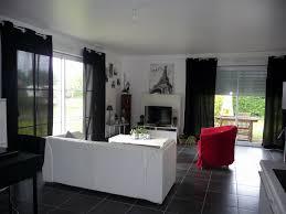cuisine et salon cuisine et salon moderne awesome salon noir blanc gris