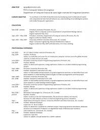 Objective For Phd Application Resume Sales And Service Representative Resume Thesis Project Management