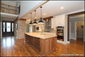 hickory kitchen island home building and design home building tips kitchen