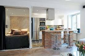 small apartments design quirky small kitchen design inspiration exposed classic brick base