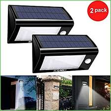 Security Light Solar Powered - lighting solar powered security flood light w motion activation