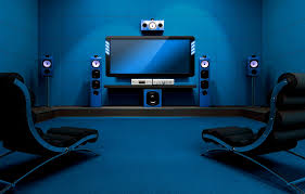 hi tech home theater ati technology background wallpapers on hd