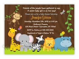safari theme baby shower invitation templates wedding invitation