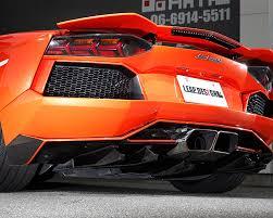 leap design ld aventador rd leap design carbon fiber rear diffuser