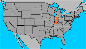 indiana map us us map usa map united states map maps and information about geo