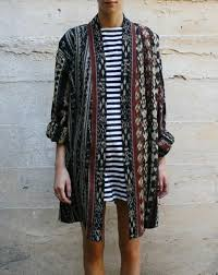 coat indie cute hipster hippie cardigan tribal pattern