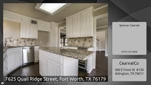 7625 quail ridge street fort worth tx 76179 youtube