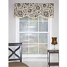 Chocolate Brown Valances For Windows Window Scarves Window Valances Bed Bath U0026 Beyond