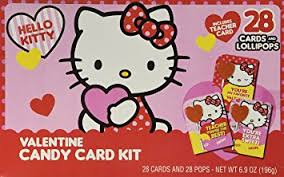 hello valentines day hello valentines day candy card kit 28 cards