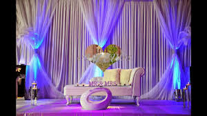 chair cover hire wedding decorations asian wedding stage by