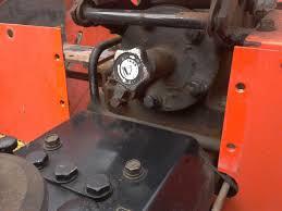front end loader pto pump
