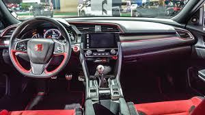 honda civic type r 2017 honda civic type r prototype interior revealed in montreal