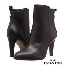 s boots designer coach jemma s boots leather booties casual designer fashion