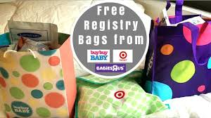 what u0027s in the registry gift bags from target buy buy baby and