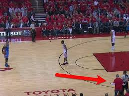 Cabinets To Go Okc Video Houston Rockets Owner Left His Seat To Go Yell At A Ref