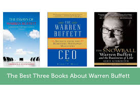 the best three books about warren buffett modest money