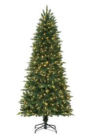 enchanted forest 7 prelit led waverly mixed pine artificial