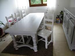 repeindre une table de cuisine en bois repeindre chaise en bois gallery of table de cuisine carrelace