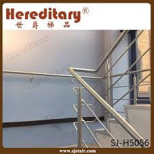 Stainless Steel Stair Handrails China Brush Finish Residential Stainless Steel Stair Railing For